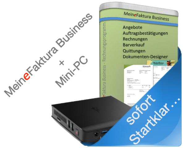 MeineFaktura Business + MiniPC