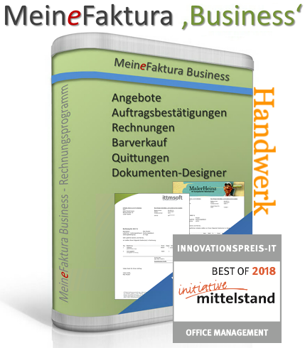MeineFaktura Business Handwerk